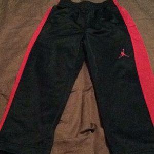 Boys size 4 Jordan sweat pants